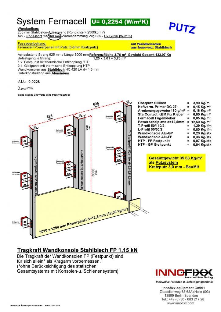 Fermacell Putzsystem Stahlblech WKS_
