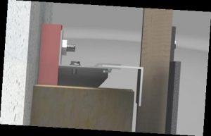 RTP mit Alu UK und Holzlatte Seitenansicht
