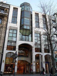 Renovierung Fassade KÖ Passage Düsseldorf
