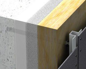 Sanierung- Abstandsmontagedübel Renovierung WDVS