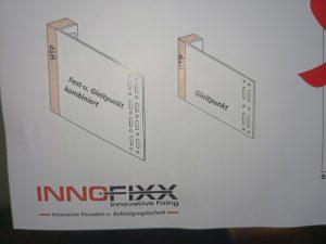 Innofixx Fest- und Glleitpunkt kombiniert mit HTP Entkopplungselement
