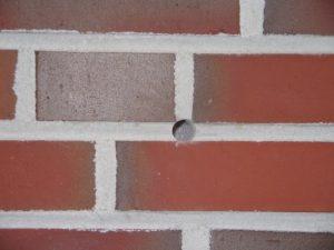 Mauer Lochdurchmesser