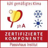 Innofixx Passivhaus Zertifikat